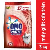 Bột giặt OMO máy giặt cửa trên 3kg