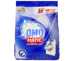 Bột giặt OMO máy giặt cửa trước 4,5kg