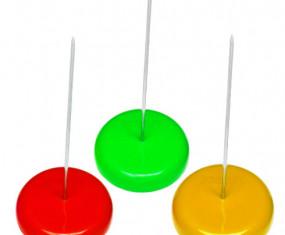 cây ghim giấy để bàn đủ màu