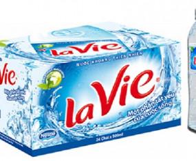 Nước đóng chai Lavie