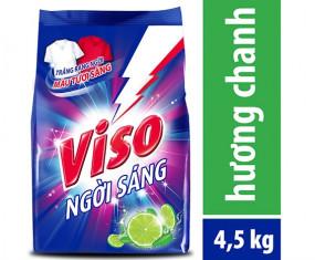 Bột giặt VISO trắng sáng hương chanh 4,5kg