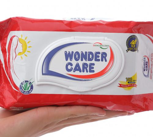 Khăn ướt Wonder care 100 miếng